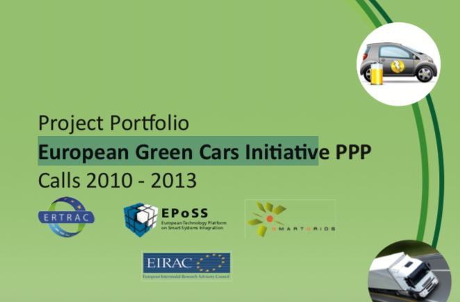 Project Portfolio of the European Green Cars Initiative PPP – Calls 2010 / 2013