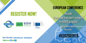 H2020RTR18 European Conference: Results from Road Transport Research in H2020 projects