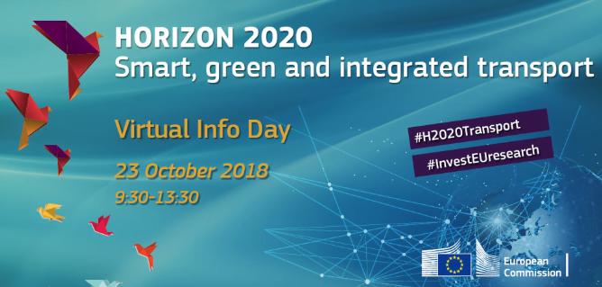 Horizon 2020 Transport virtual info day