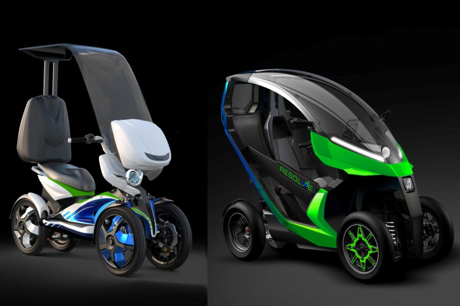 RESOLVE vehicles prototypes D1 & D2