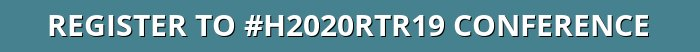Button to register to #H2020RTR19 European Conference next 4 & 5 December in Brussels
