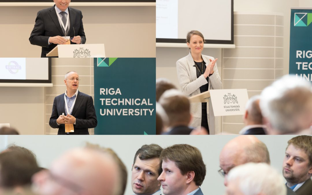 ERTRAC EGVIA Visit to the Baltic States – a seminar dedicated to road transport research opportunities at European level!