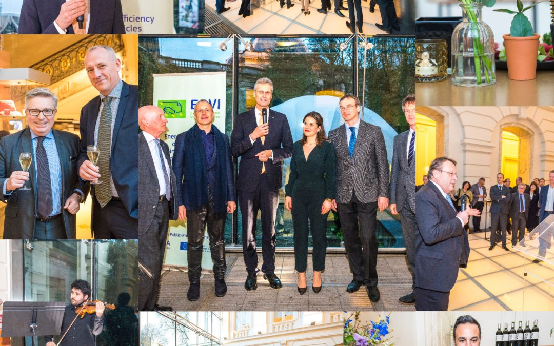 EGVI partnership 10th Anniversary at BELVue Museum on April 3rd