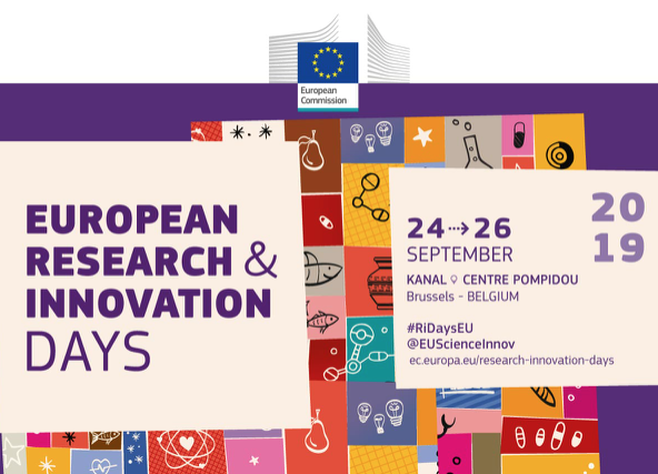 Save-the-date: European Research and Innovation Days 2019