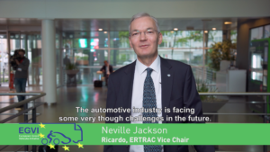 EGVI 10th Anniversary capsule with Neville Jackson from Ricardo & ERTRAC Vice-Chair
