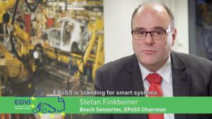 EGVI 10th anniversary capsule - Stefan Finkbeiner, Bosch Sensortech & EPoSS Chairman