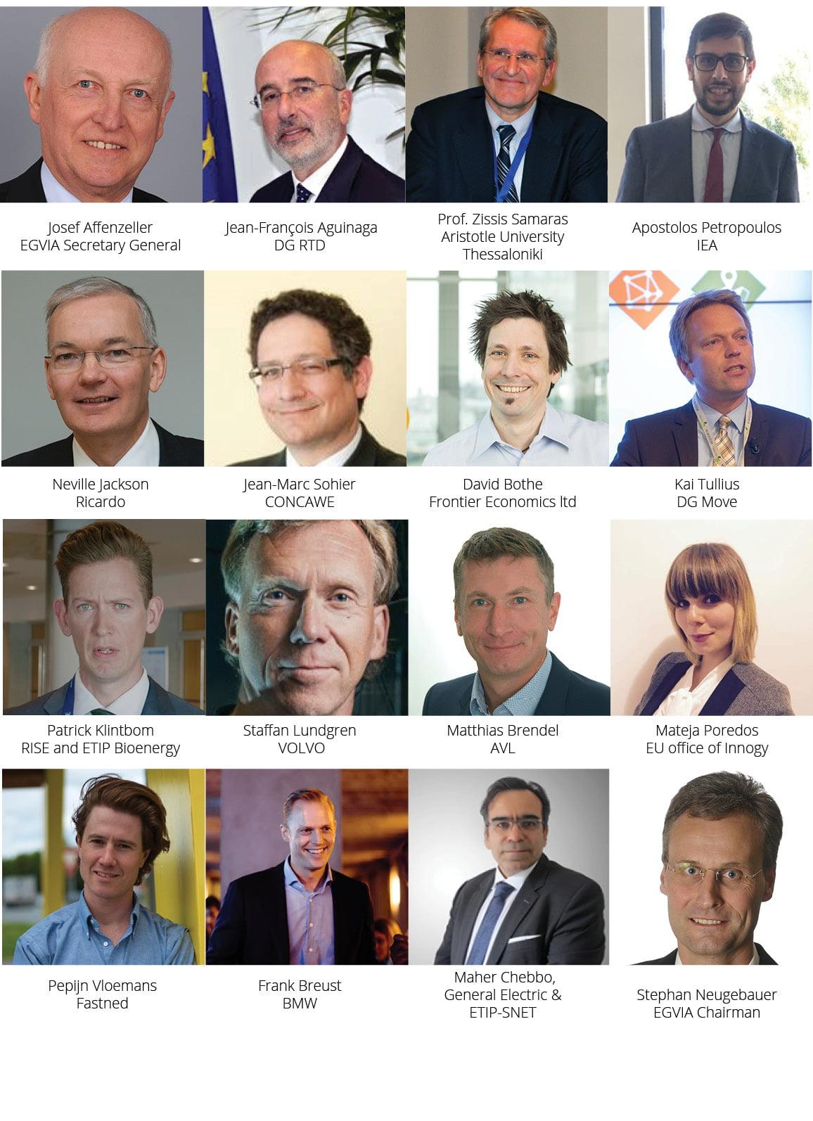 Energy4Transport Workshop Speakers Portraits Gallery