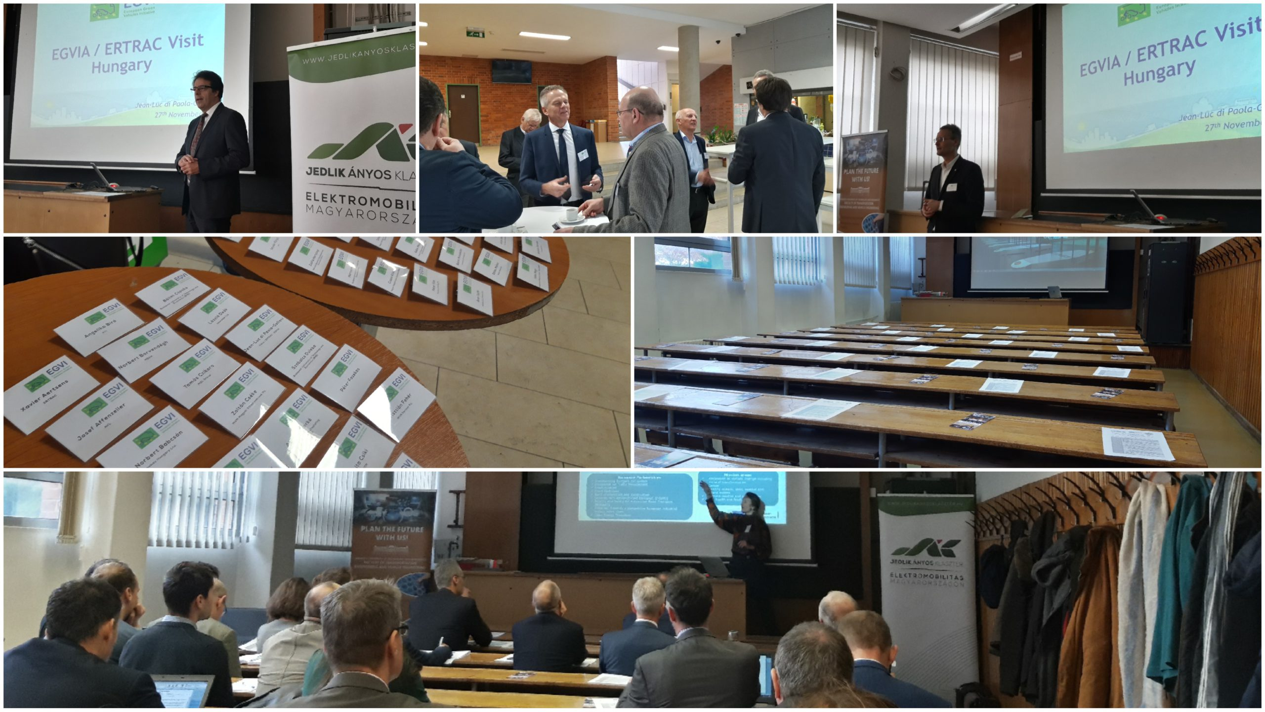 EGVIA Board Visit to Hungarian Stakeholders last November 2019