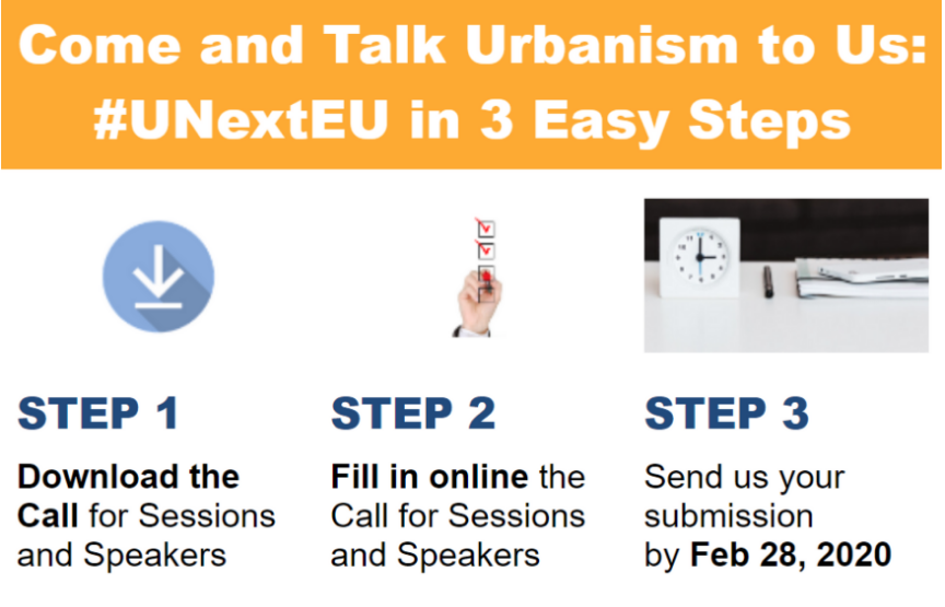 Urbanism Next Europe 2020 Call process